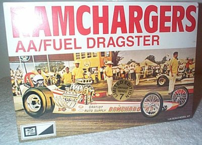 Ramchargers Fuel Dragster Model Kit