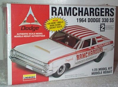 Ramghargers '64 Dodge SS/A Model Kit