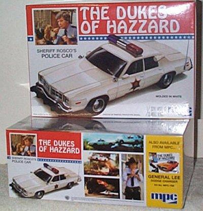 Sheriff Rosco's Police Car MPC Model Kit