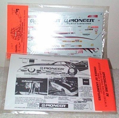 Slixx Decals # 1017 Tom Hoover Pioneer