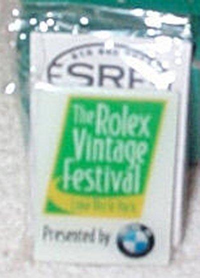 Rolex Vintage Festival Pin