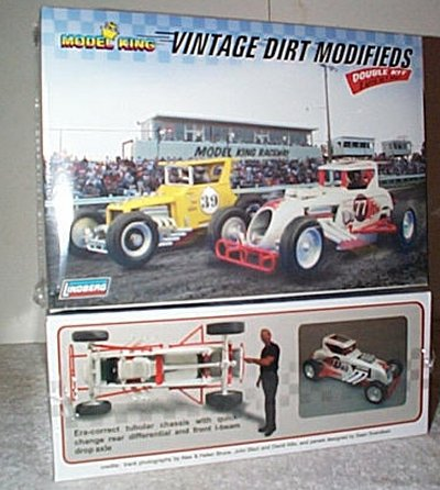 Vintage Dirt Modifieds Double Kit By Model King