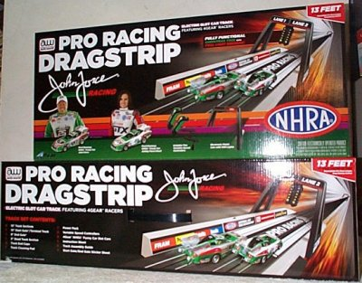 Sports Motorsports Auto Racing Soap  Derby on Westbury Motorsports   John Force Pro Racing Dragstrip Electric Slot